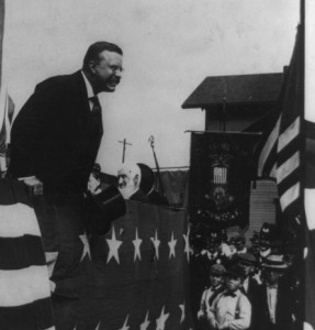 Photo: President Theodore Roosevelt