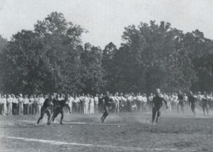 Football at Smith Field, 1932