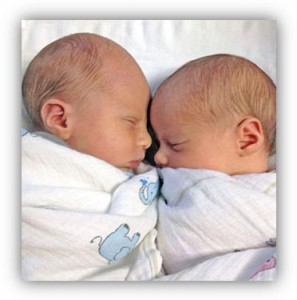 Photo of Jana Walker's twins