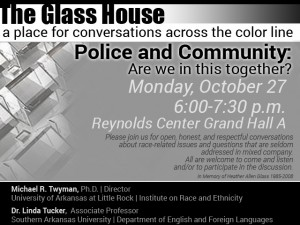 The Glass House discussion @ Grand Hall A