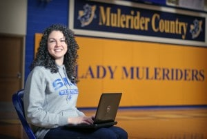 Elena Villagomez GA Volleyball and Online M.S. Coaching student