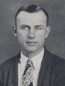 Coach Sage McLean, 1929 photo