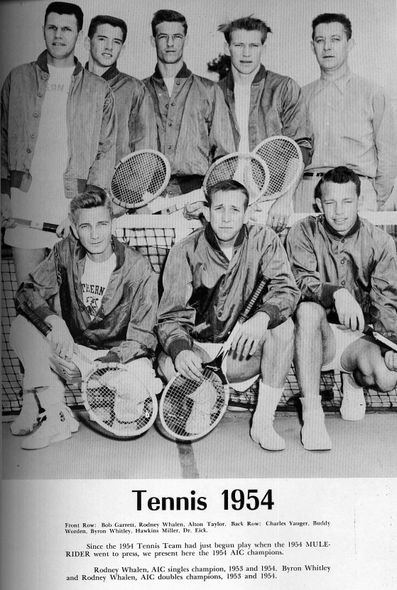 1954-55 Tennis AIC Champions photo