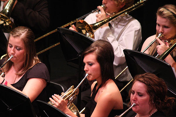 Band performance, May 2011