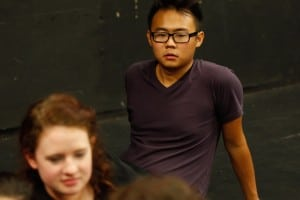 Terence Lee in Guildhall's summer workshop in London