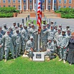 National Guard flag donation