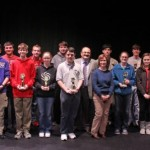 SAU Math contest winners