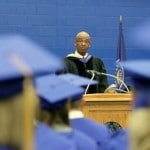 Edgar Lee speaks at 2013 May Commencement
