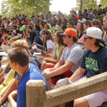 SAU attracted more freshman students this year than ever before. They gathered for Mulerider Roundup to learn about SAU's complete college experience before their first day of classes in August.