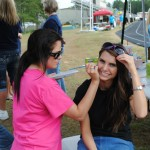 Face Painting -  Relay for Life 2012