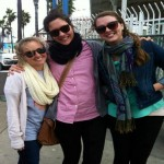 Jordan, Gabby, and Ambrosia visit Mission, Pacific, and La Jolla beaches while in San Diego for NSNA Mid-Year Conference