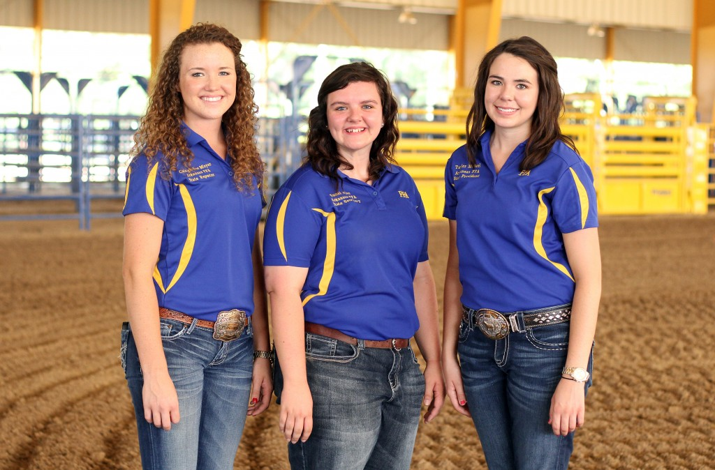 FFA State Officers at SAU
