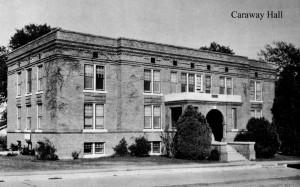Photo: Caraway Hall. Courtesy of Southern Arkansas University Archives, Magnolia, Arkansas.