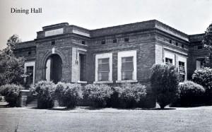 Photo: Dining Hall. Courtesy of Southern Arkansas University Archives, Magnolia, Arkansas.