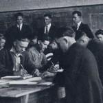 Photo: A drafting class at Old Main in 1922. Courtesy of Southern Arkansas University Archives, Magnolia, Arkansas.