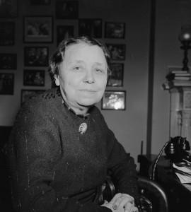 Photo: Senator Hattie Caraway. Courtesy of the Library of Congress, Washington, D. C.