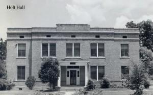 Photo: Holt Hall. Courtesy of Southern Arkansas University Archives, Magnolia, Arkansas.