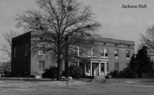 PhotoL: Jackson Hall. Courtesy of Southern Arkansas University Archives, Magnolia, Arkansas.