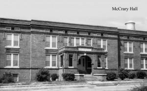 Photo: McCrary Hall. Courtesy of Southern Arkansas University Archives, Magnolia, Arkansas.