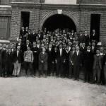 Photo: Students at McCrary Hall in 1916. Courtesy of Southern Arkansas University Archives, Magnolia, Arkansas.
