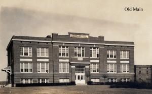 Photo: Old Main. Courtesy of Southern Arkansas University Archives, Magnolia, Arkansas.
