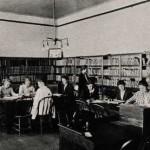 Photo: The Library at Old Main in 1917. Courtesy of Southern Arkansas University Archives, Magnolia, Arkansas.