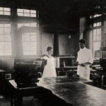 Photo: Students work in the Dining Hall kitchen in 1917. Courtesy of Southern Arkansas University Archives, Magnolia, Arkansas.