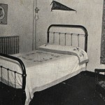 Photo: A room in Caraway Hall in 1923. Courtesy of Southern Arkansas University Archives, Magnolia, Arkansas.