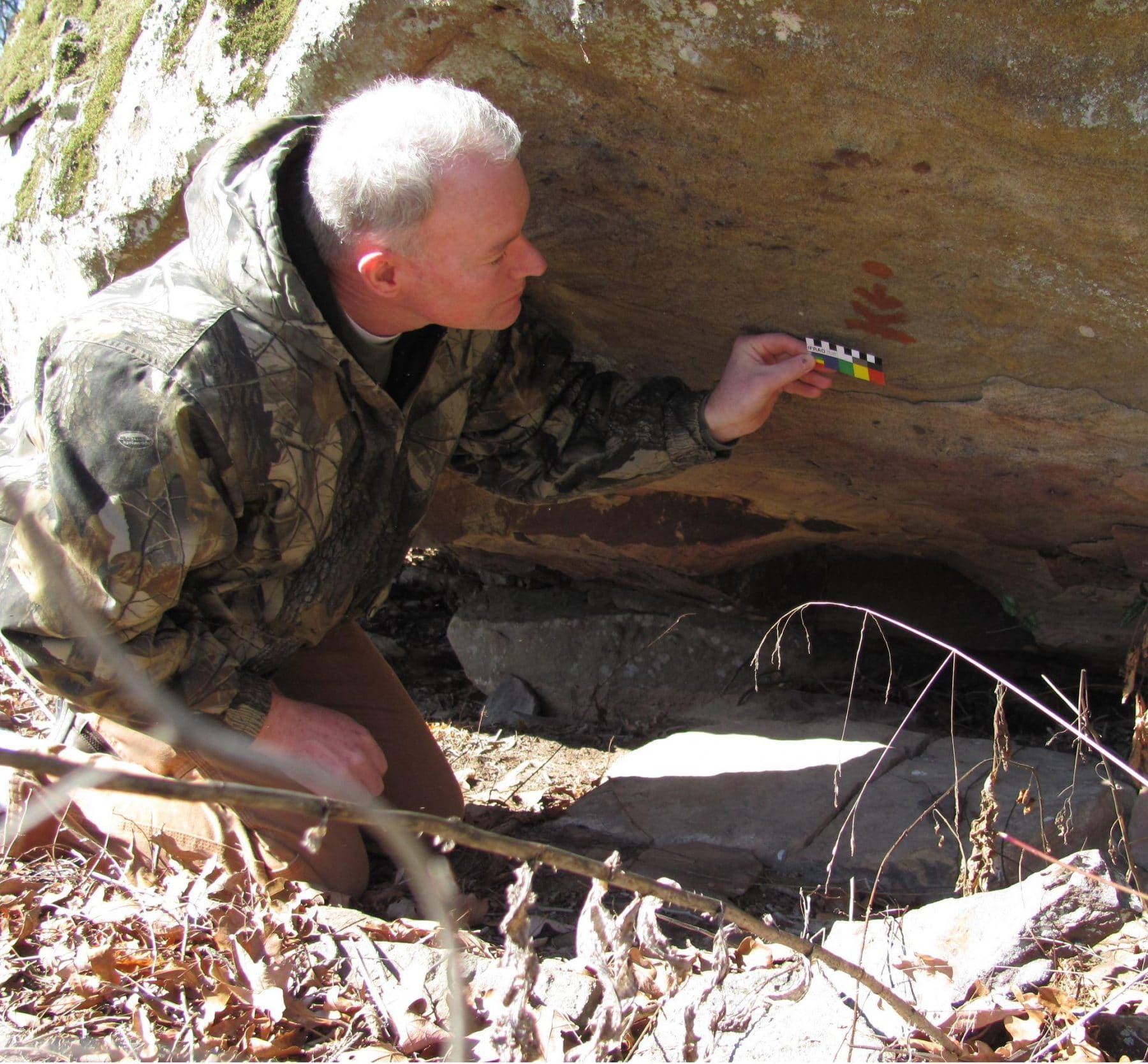 don higgins to talk about arkansas rock art