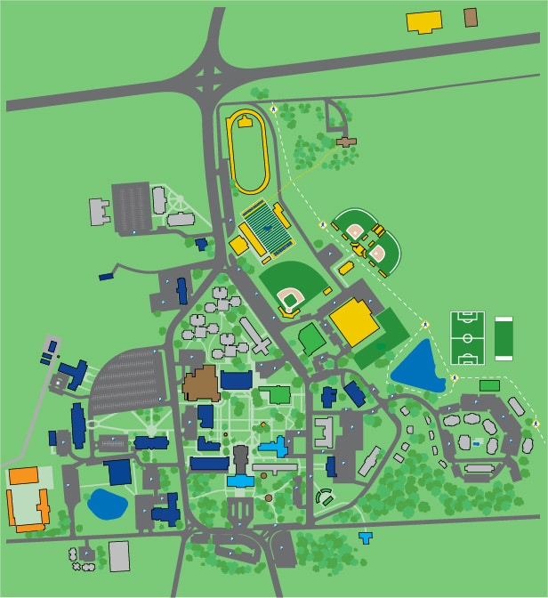 Salem College Campus Map.Interactive Map Office Of Admissions