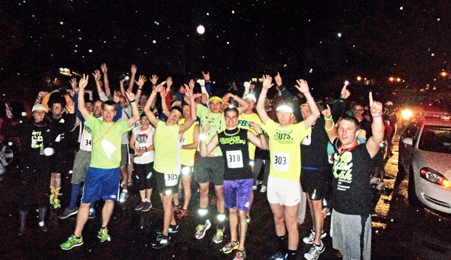 Greene Hall's Get Up and Glow 5k fundraiser