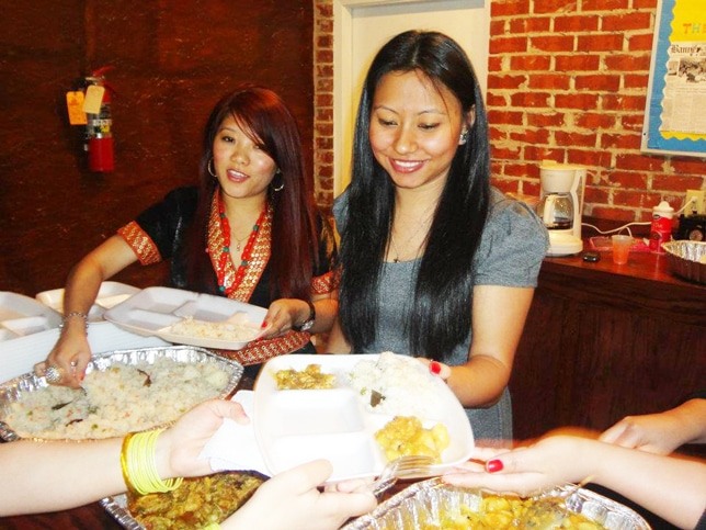 International Student Association Dinner
