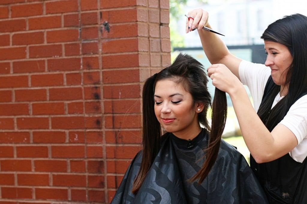 Aranda head shaving
