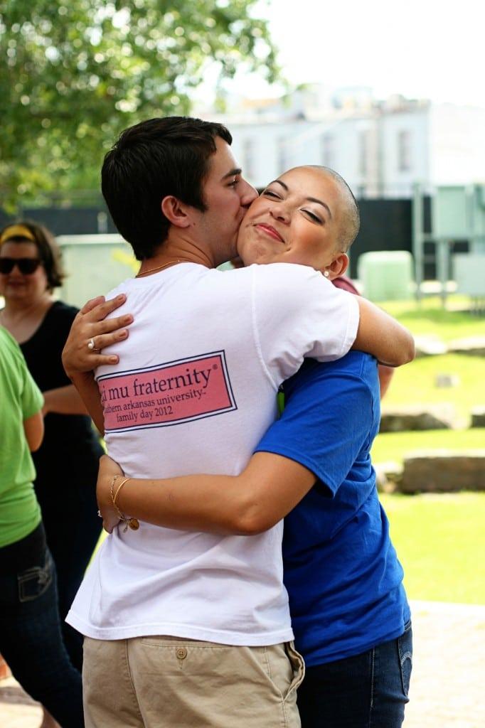 Aranda and boyfriend Rodriguez