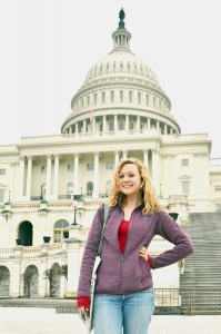 Bridget Wood at the capital