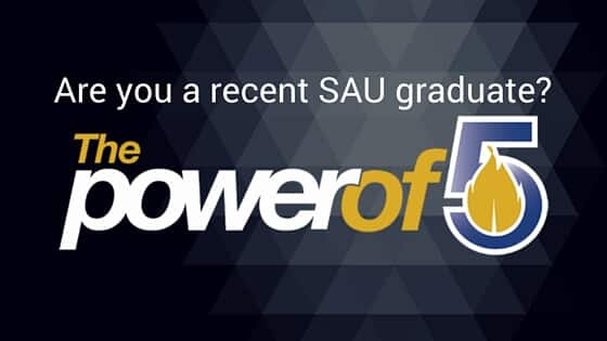 Are you a recent SAU graduate
