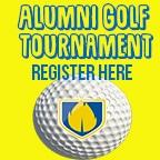 Alumni Golf Tournament Register Button