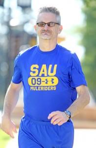 Greg Taylor running