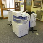 Magale's copy machines located on the second floor.