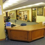Users may receive assistance locating items within the library, including the Reserves Collection by inquiring at the Checkout Desk located on Magale's second floor.