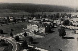 Aerial view 1946 of SAU photo