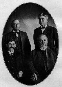 TDAS Board of Trustees, 1915 photo