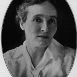 "Mrs. Laura Jackson, the first ""dorm mother,"" of Jackson Hall, 1911-1918 photo"