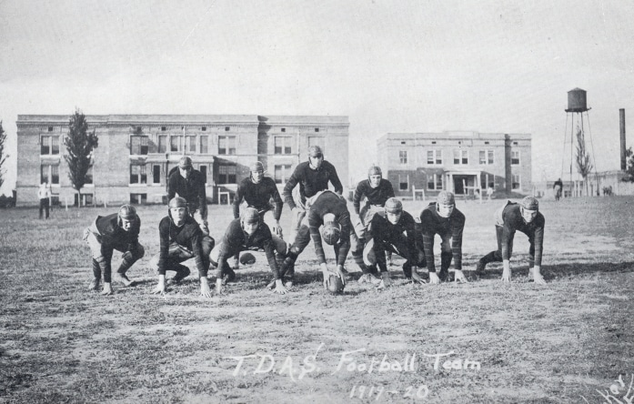Mulerider Football Team 1919-1920 photo