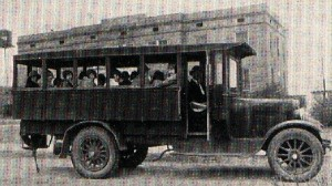 "The ""Bussey Bus"" in 1926. SAU Archives. photo"