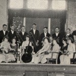 Professor Glenn Martel and the Magnolia A&M's orchestra in 1925. SAU Archives photo