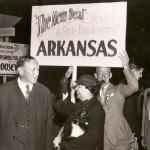 Senators Hattie Caraway and Joseph T. Robinson photo