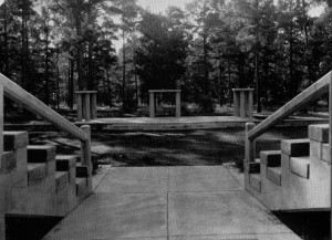 The Greek Theater in 1940, after addition of seating photo