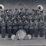 A&M Band in 1939 with Elizabeth McMorella photo