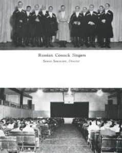 Russian Cossack Singers on the Armory Stage photo